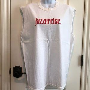 Vintage tshirt sleeveless sz L